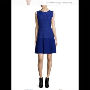 Blue dress by Elie Tahari